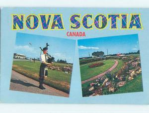 Pre-1980 TOWN VIEW SCENE Amherst Nova Scotia NS p9783