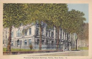 Provincial Parliament Buildings, Halifax, Nova Scotia, Canada, PU-1939