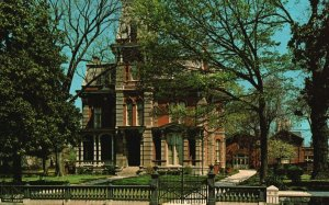 Memphis, TN, Fontaine House, James Lee Memorial, 1975 Chrome Postcard g9048