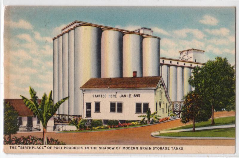 Grain Storage Tanks, Battle Creek MI