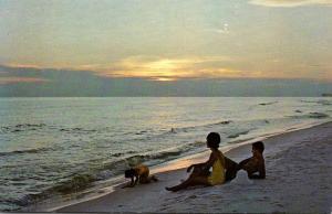South Carolina Myrtle Beach Ay Early Morning