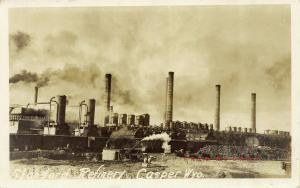 Circa-1910 Casper Wyoming Real Photo Postcard: Standard Refinery