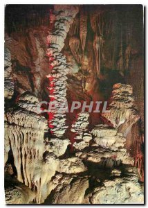 Postcard Modern Traveling the Tarn Gorges Grotte Aven Armand Draperies and St...