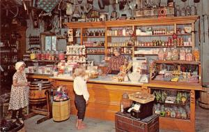 Millville New Jersey~Wheaton Village~Penny Candy Counter~1960 Postcard