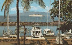 Lahaina Harbor , Hawaii , 1957