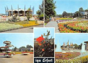 IGA Erfurt Internationale Gartenbauausstellung Brunnen Fountains Promenade