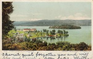 VERMONT, PU-1905; Prospect House and Lake Bomoseen