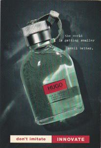 Advertising Hugo Boss eau de toilette
