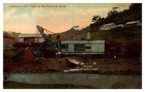 Steam Shovel in the Panama Canal
