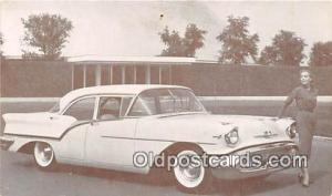 Postcard Post Card 1957 Oldsmobile Super 88 4 Door Sedan