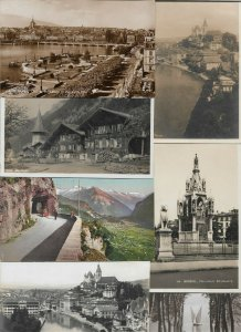 Switzerland Geneva Meiringen Thun And More Postcard Lot of 20 01.13