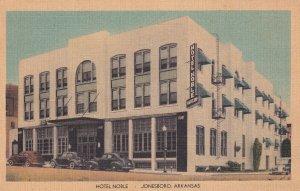 JONESBORO, Arkansas, 1930-1940's; Hotel Noble