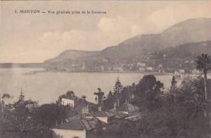 Vue Generale Prise De La Frontiere, Menton (Alpes Maritimes), France, 1900-1910s