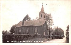 St John's Evangelical Church Manchester MO Writing on back