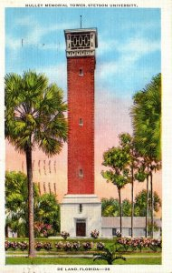 Florida Deland Hulley Memorial Tower Stetson University 1936