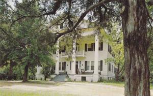 Exterior View of Brooks-Tompkins HomeGeorgian Classic Home, Edgefield, South ...