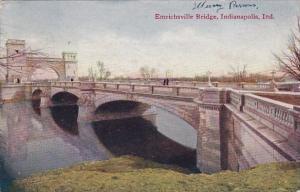 Emrichsville Bridge Indianapolis Indiana 1909