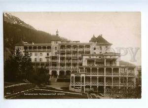 192044 SWITZERLAND DAVOS Sanatorium Schweizerhof Old photo