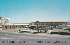 Arizona Gila Bend Sea Shell Motel U S Highway 80 & 84 sk2855