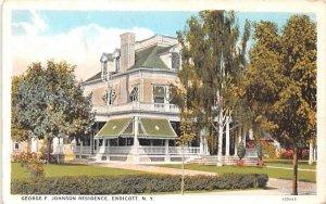 George F Johnson Residence Endicott, New York