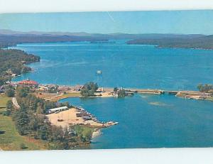 Pre-1980 HARBOR SCENE Naples & Long Lake Maine ME hp7268