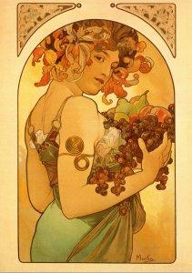 Fruit 1897 Alphonse Mucha