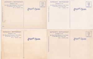 0154 Grabbag Auction 4 Restaurant Postcards Starting At .99