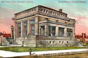 California Marysville Public Library