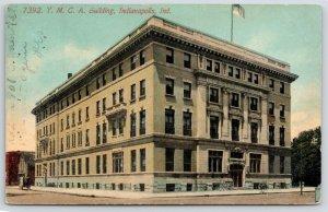 Indianapolis IN~YMCA~N Illinois & W New York Streets~Razed~Parking Garage~1911