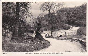RP: BAKEWELL , Derbyshire , England , PU-1951 ; TUCK ; Conksbury Bridge