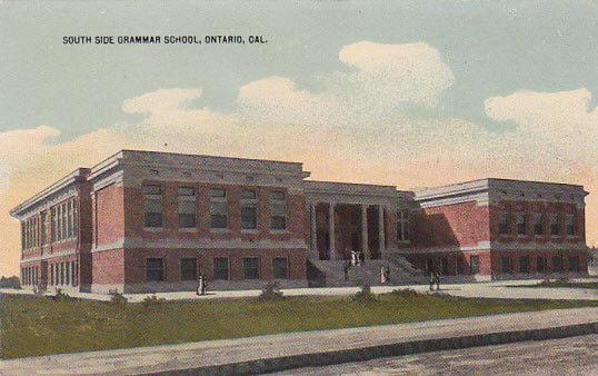 ONTARIO, California, 1900-1910s; South Side Grammar School