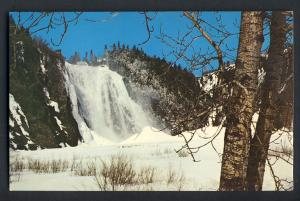 Quebec City, Quebec, Canada Postcard, Falls Of Montmorency