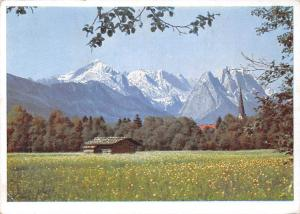 Garmisch mit Zugspitzgebiet Cabin Mountains Landscape