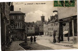 CPA Stenay - Place du Marché (240853)