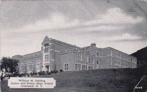 William H Golding Junior And Senior High School Cobleskill New York 1942
