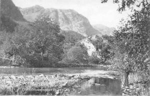 In Borrowdale Valley, Beautiful Nature Scenery in English Lake District 1909