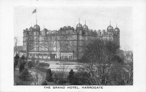 The Grand Hotel, Harrogate, England, Early  Postcard, Unused