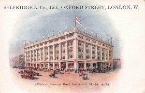 Selfridge & Co., Oxford Street, London, England, Early Postcard, Unused