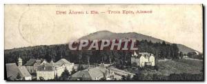 Old Postcard Trois Epis Alsace Drei Ahren