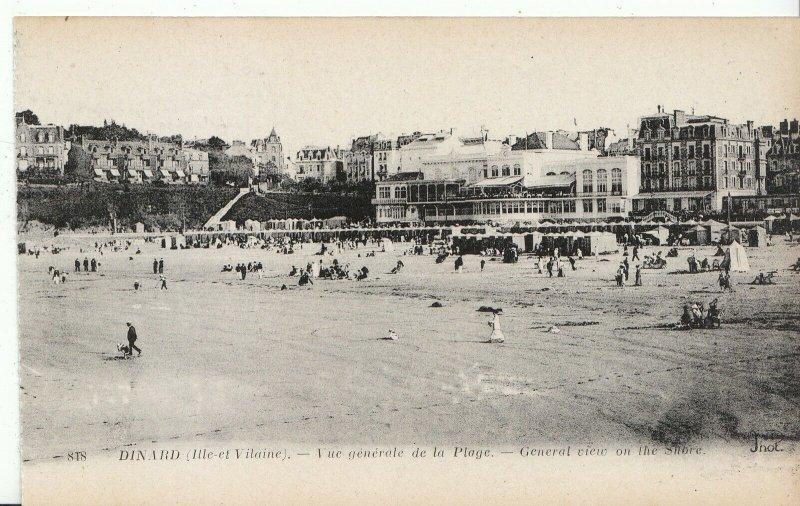 France Postcard - Dinard - [Ille-et-Vilaine] - General View of The Shore  A5726