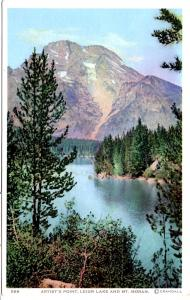 DETROIT 589, Artist's Lake, Leigh Lake and Mt Moran, Grand Teton