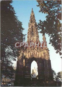 Modern Postcard The Scott Monument Edinburgh