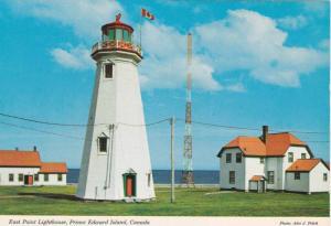 East Point Lighthouse,  Prince Edward Island,  Canada,   50-70s