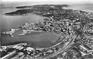 France Antibes Vue Generale Anse de Saint Roch et le Port Panorama