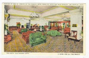 Lobby, Hotel Rosslyn , Los Angeles, California, 00-10s