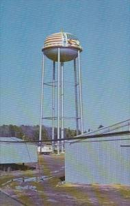 Water Tank Surrounded By Peanut Warehouses Plains Georgia