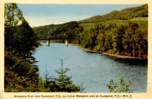 Canada - Quebec, Causapscal. Matapedia River