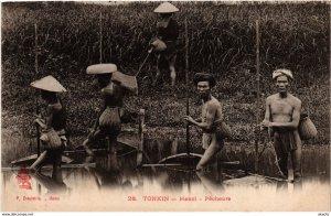 CPA INDOCHINA Tonkin Pecheurs VIETNAM (958625)