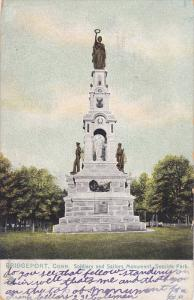 TUCK #5550, BRIDGEPORT, Soldiers' and Sailors' Monument , Seaside Park, Conne...