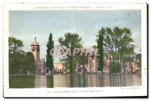 Old Postcard Exposition Coloniale Internationale Paris enseemble view of the ...